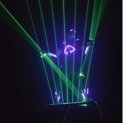 Laser show act