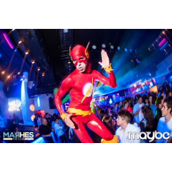 Flash en zancos