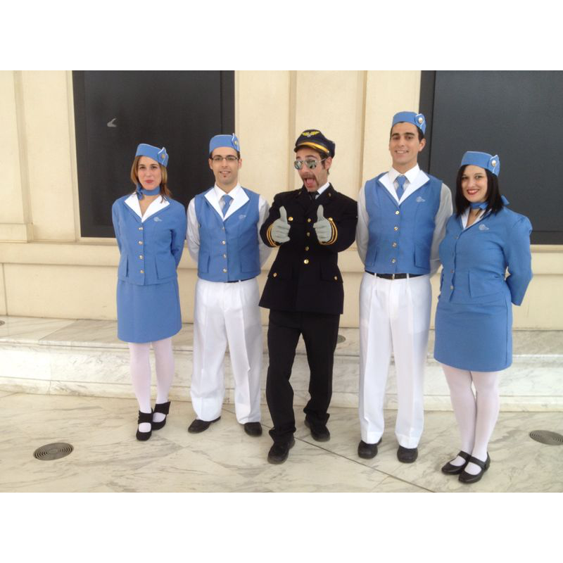 Animació pilot i hostesses