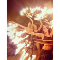 Performance de fuego