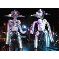 Robots Cyborgs - Itinerants