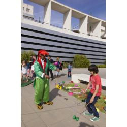 Festa infantil amb animació i tallers